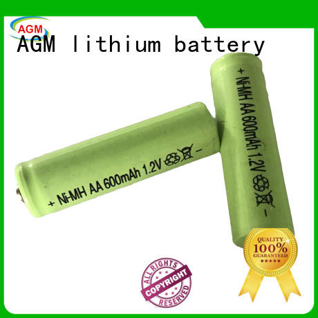 AGM lithium battery professional ni mh aa rechargeable batteries manufacturer for consumer electronicals