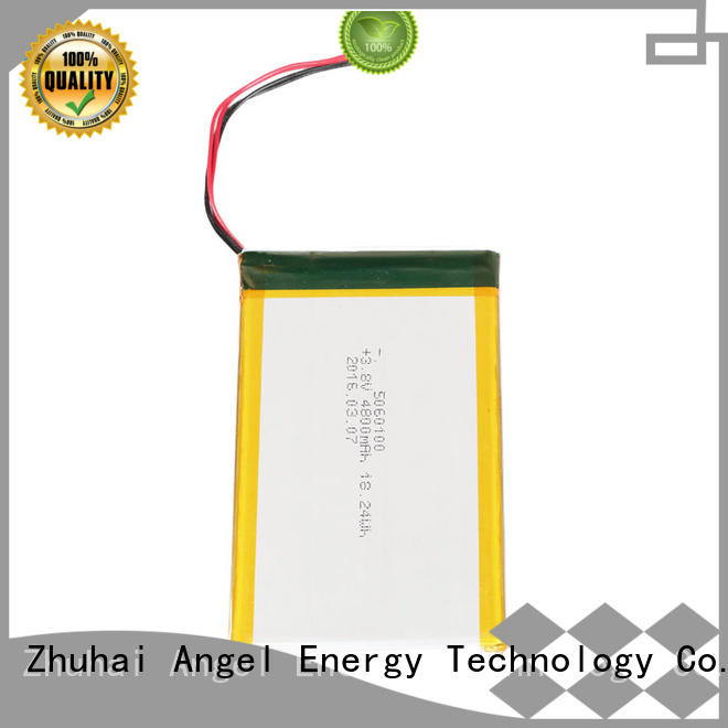 AGM lithium battery latest polymer battery with charger for pad