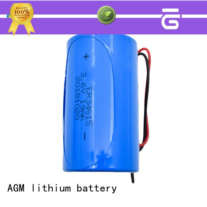 non rechargeable li-socl2 battery supplier for automotive electronics AGM lithium battery
