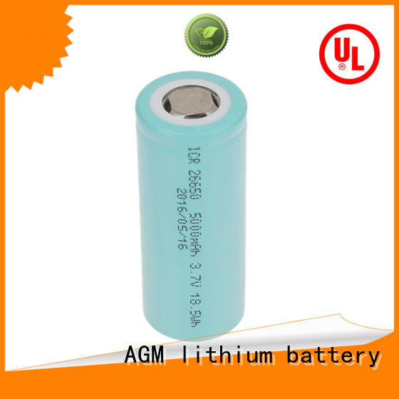 AGM lithium battery consumer 18650 rechargeable battery mah for sale