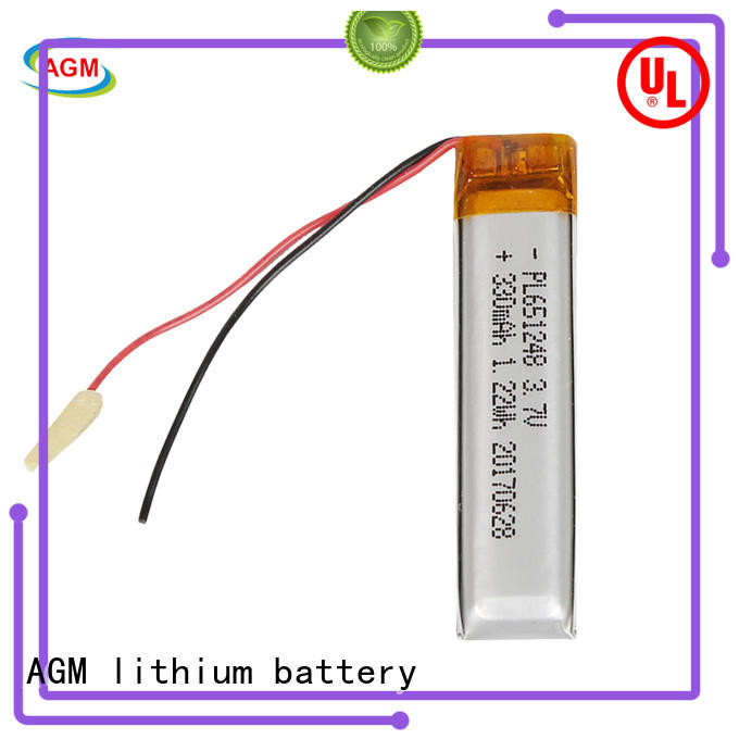 AGM lithium battery oem lithium polymer battery pack online for phone battery