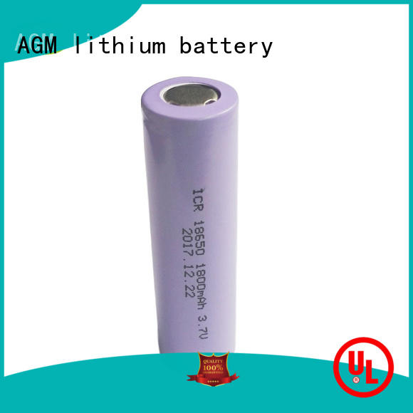 electronic 18650 rechargeable battery with pcm for solar products