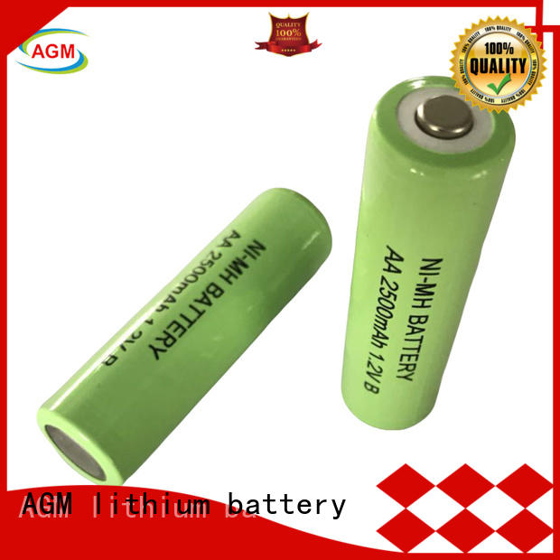 rechargeable nimh rechargeable battery supplier for customer product AGM lithium battery