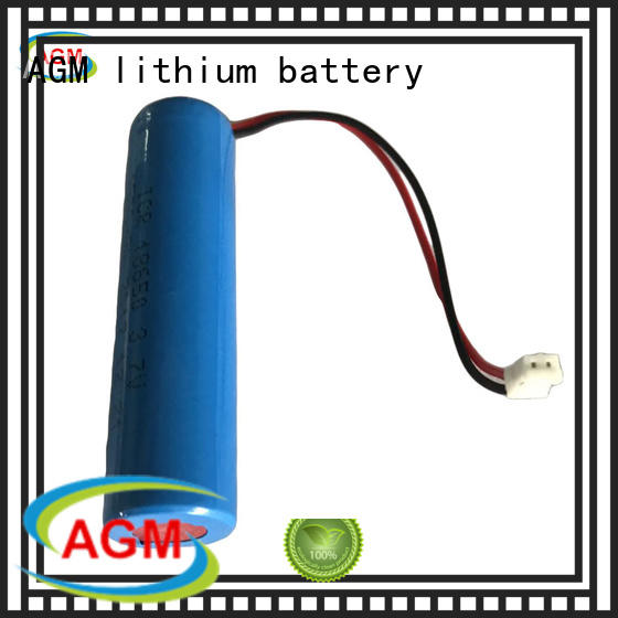 AGM lithium battery electronic cylinder battery mah for led lighting