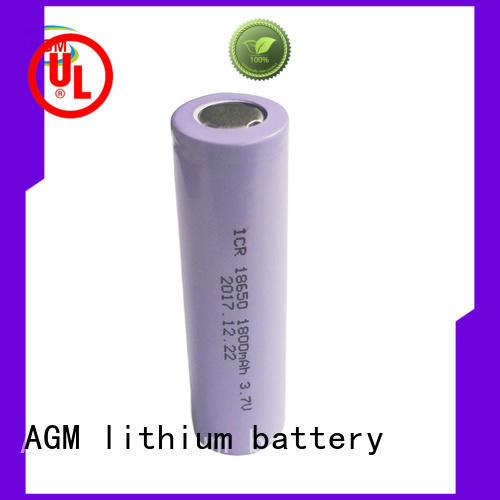 AGM lithium battery low temperature performance 18650 battery cell for led lighting
