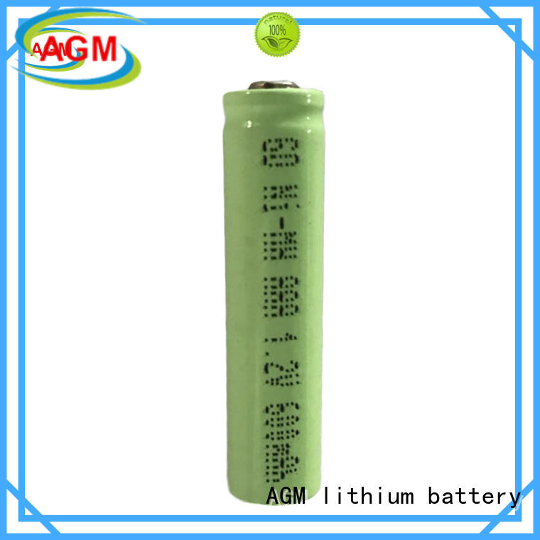 AGM lithium battery flat low self discharge 12v nimh battery manufacturer for consumer electronicals