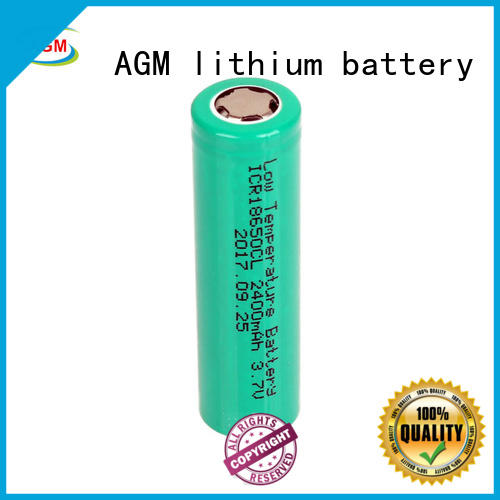 icr lithium 18650 with charger for led lighting AGM lithium battery