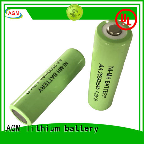 AGM lithium battery flat low self discharge nimh aa manufacturer for power tools