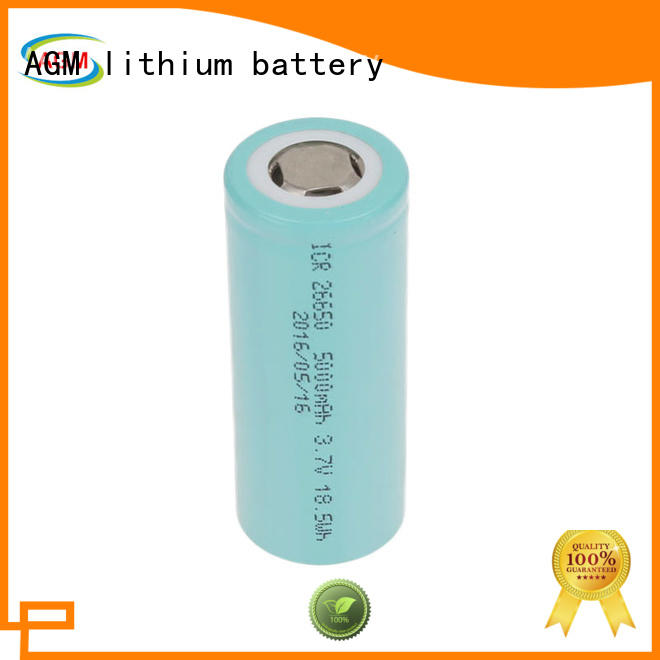 AGM lithium battery icr 18650 lithium battery with pcm for solar products