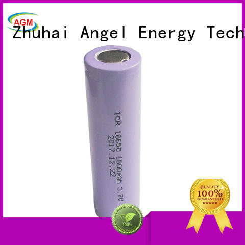 AGM lithium battery consumer 18650 li ion battery with pcm for led lighting