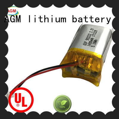 AGM lithium battery rechargeable 2s lipo battery mah for pad