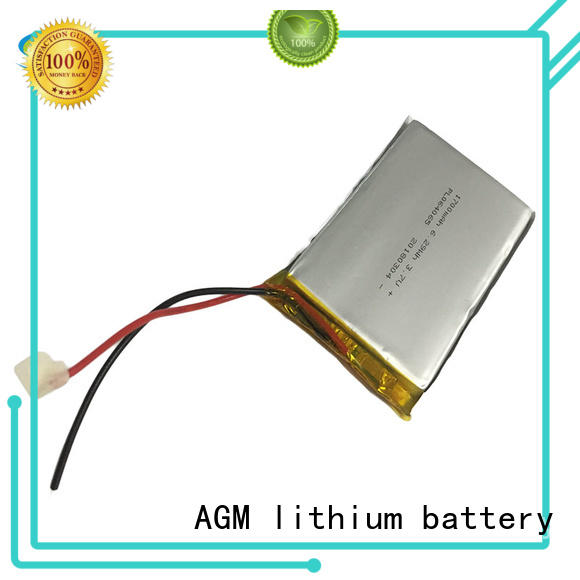 AGM lithium battery oem 3.7 v lipo battery agm for pad