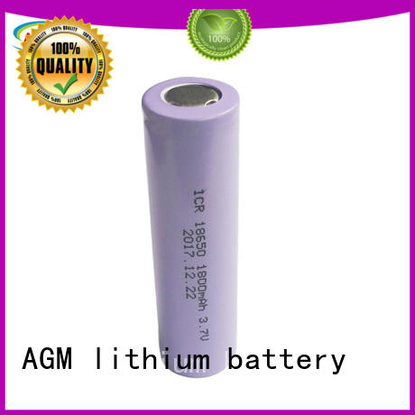 AGM lithium battery 18650 lithium battery with pcm for solar products